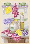 N2602 Кухонний натюрморт з лавандою