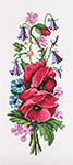 N3113 Букет польових квітів із дзвіночками