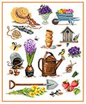 N5004 Садовий натюрморт «Весна»