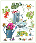 N5005 Садовий натюрморт «Літо»