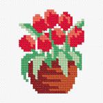 N908 Тюльпани