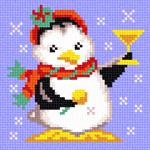 O1203 Пінгвін з шампанським