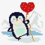 O1295 Пінгвін з кулькою