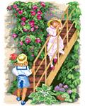 P13 Діти на сходах. Перше освідчення