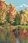 S21 Пейзаж «Золота осінь»