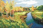 S39 Пейзаж «Золота осінь», І. Лєвітан