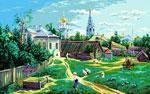 S52 «Московське подвір'я», В. Полєнов