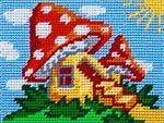 X2236 Будинок у грибочку