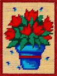 X2243 Червоні тюльпани