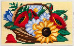 X2301 Польові квіти в кошику
