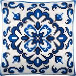 Z74 Синій орнамент